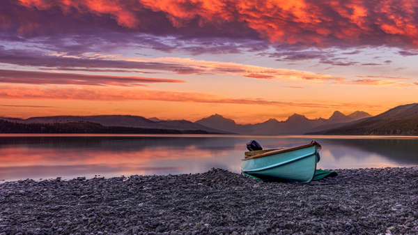 Lake McDonald - Glacier National Park - Landscape Photography - John Dukes Photography