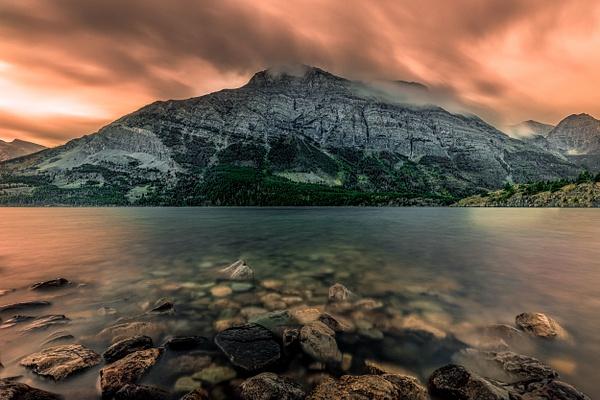 Glacier National Park - Saint Mary Lake - Fine Art Photographer and Wall Art Photography