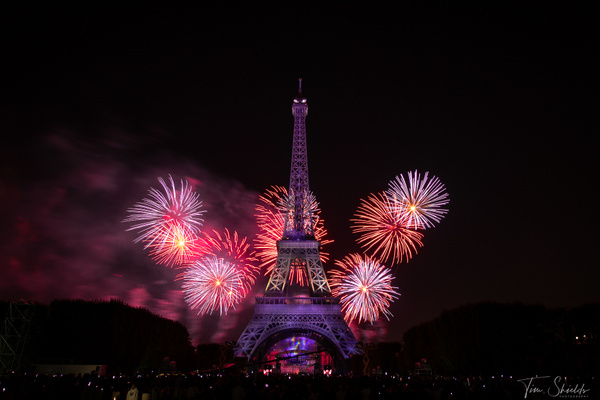 Eiffel Tower 6983 1920px 1.3sec - Cityscapes - Tim Shields Landscape Photography