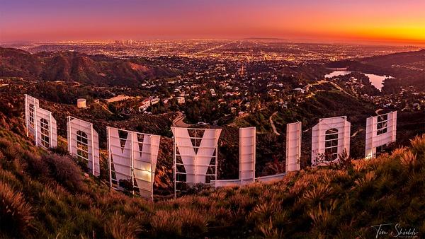 Hollywood 16x9 1920px jpg - Cityscapes - Tim Shields Landscape Photography