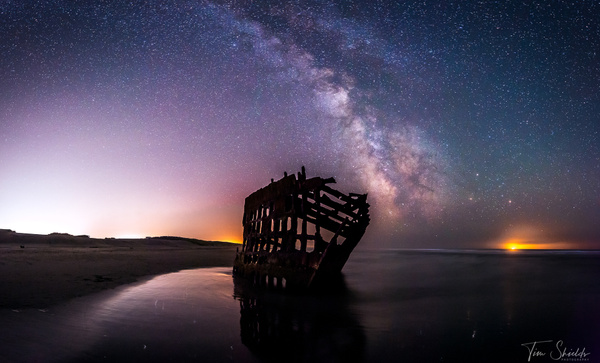 Milky Way Fort Stevens State Park 8143 1920px - Landscapes - Tim Shields Landscape Photography