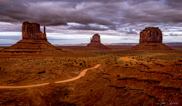 Monument Valley Stormy Sky 4840 RGB - Rockscapes - Tim Shields Landscape Photography