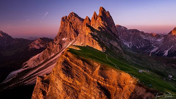 Seceda 1441 - Rockscapes - Tim Shields Landscape Photography