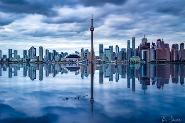 Toronto Skyline Reflection