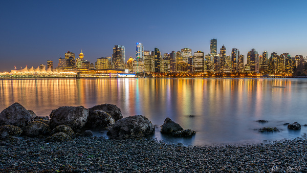 Vancouver from Stanley Park 8385 16x9 - Cityscapes - Tim Shields Landscape Photography