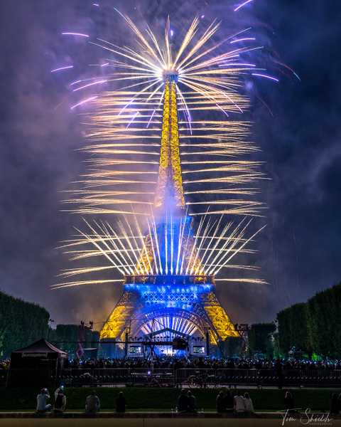 Effeil Tower fireworks 7160 4x5 for ig - Rockscapes - Tim Shields Landscape Photography
