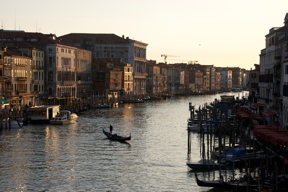 Grand Canal late afternoon, Venice