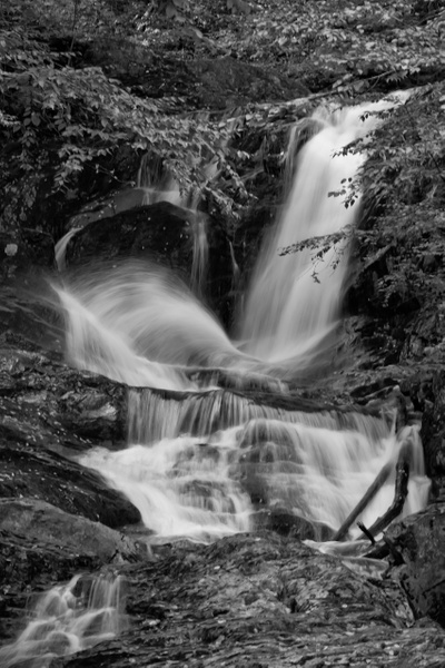 Sanderson Brook Falls_tash - Landscapes - MJ Tash Photography
