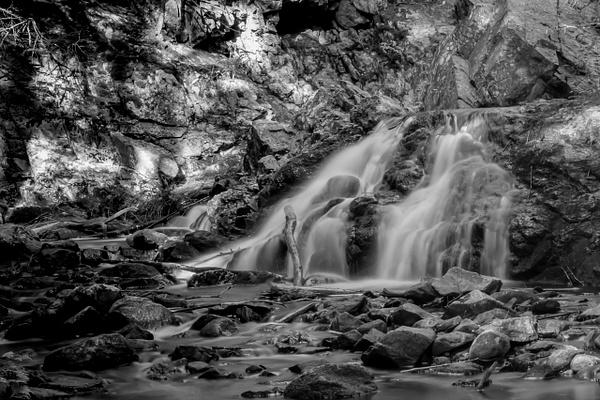 Bears Den Falls_tash - Landscapes - MJ Tash Photography