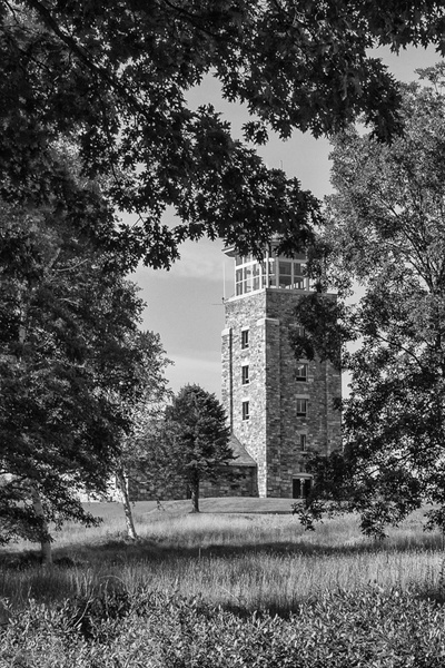 Quabbin Tower_Tash - Landscapes - MJ Tash Photography