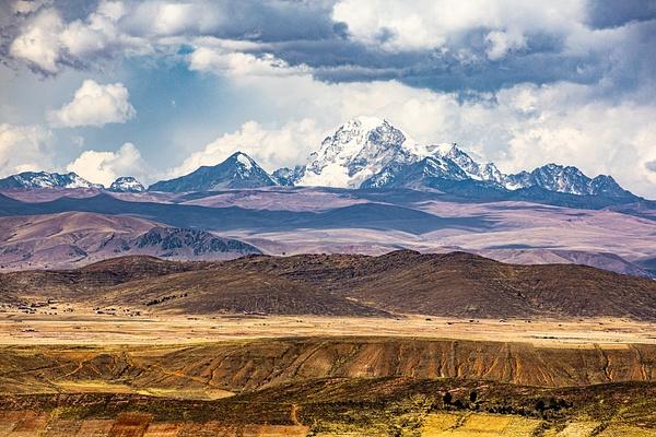 On the highway near La Paz by Michael McNamara