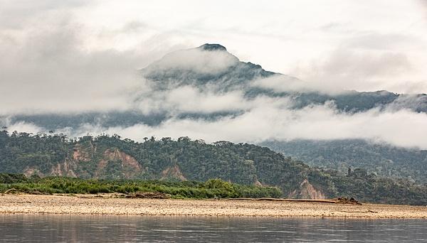 Early morning on the Beni River by Michael McNamara