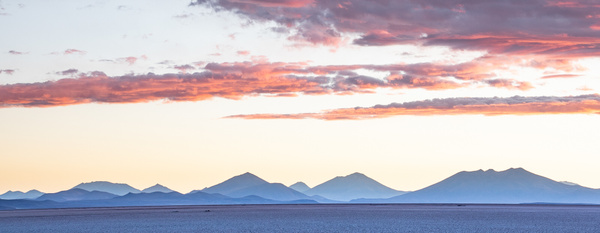 Salar De Uyuni at sundown by Michael McNamara