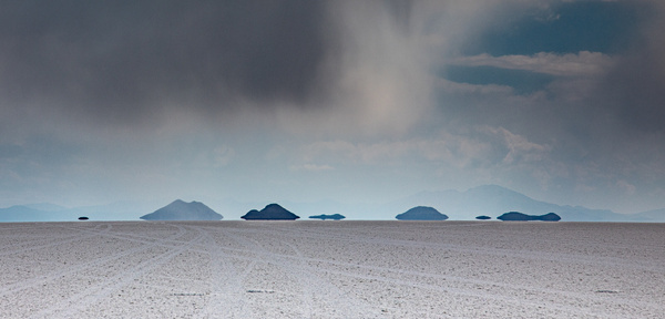 Hovering islands by Michael McNamara