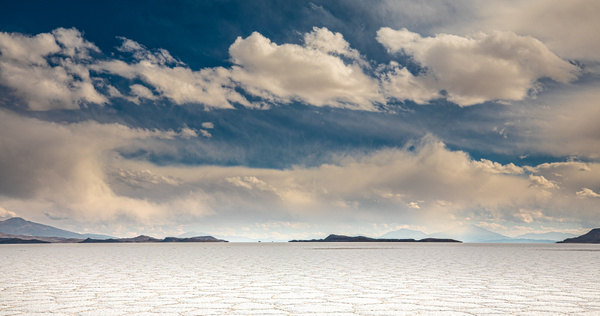 Late afternoon on the Salar by Michael McNamara