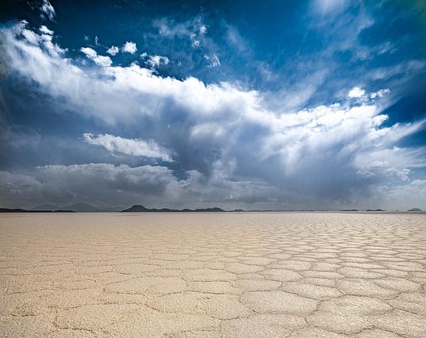 Cloud burst by Michael McNamara
