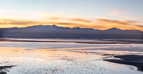 Laguna Coronado (Red Lake) by Michael McNamara