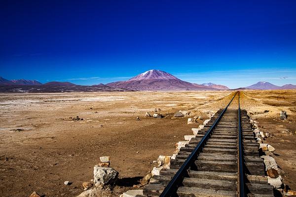 Train Line by Michael McNamara