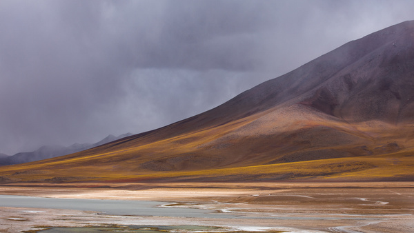 Sweeping mountain by the Green Lake by Michael McNamara