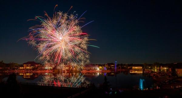 Heinz Fireworks by jaxphotos