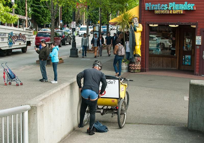 Quick Change, Seattle