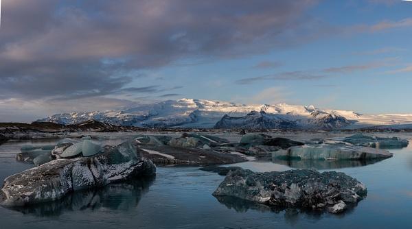 Jokulsarlon Iceberg Lagoon 1 by Jack Kleinman