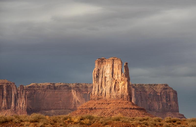 West Mitten Butte, Monument Valley