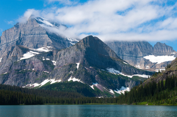 Mountains Kissed by Clouds by Jack Kleinman