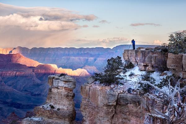 Yavapai Point, Grand Canyon by Jack Kleinman