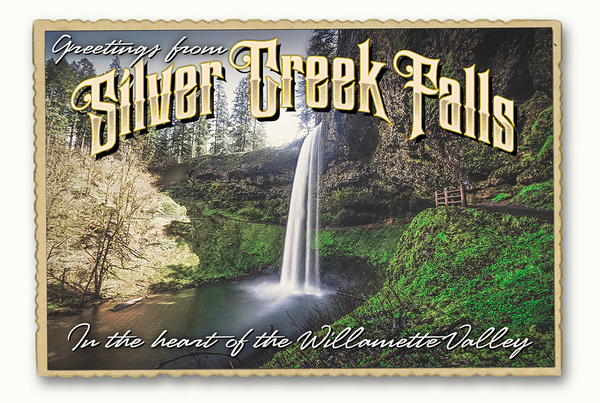 silver falls up - Home - Barry Morris Photography