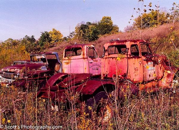 Cool old trucks, Fairfield, OH - Best Photos - PhotographyScott