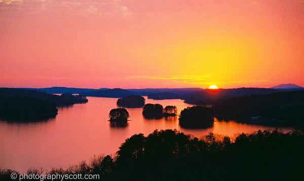 Lake Lanier Georgia - Golden Hours - PhotographyScott