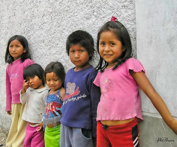 Shanty Town Kids - People - Phil Mason Photography