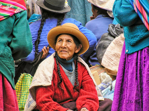 Market Lady - People - Phil Mason Photography