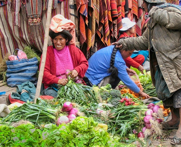 Vegetables for  Sale - People - Phil Mason Photography