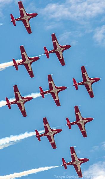 Edm Flyover CF Snowbirds