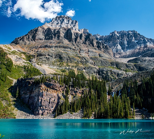 Lake O'Hara and the Seven Sisters Waterfall - Home - Walter Nussbaumer Photography