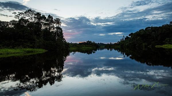 Sani Lodge, Sunset_ Amazon, Ecuador_MG_9952 - Home - Walter Nussbaumer Photography