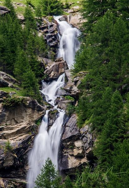 Saas Balen Waterfall _DSC1773 - Home - Walter Nussbaumer Photography