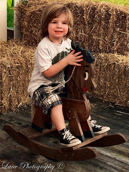 Sawyer Hobby Horse Kinman's-012 - Children - Lane Photography