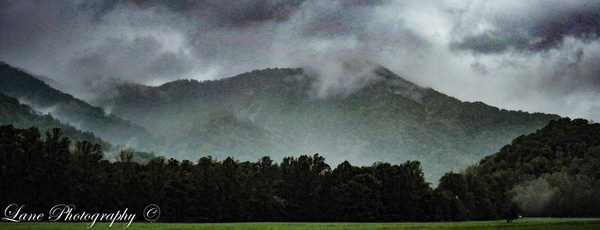 SMtNatPk Cloudy Mountain - Nature - Lane Photography
