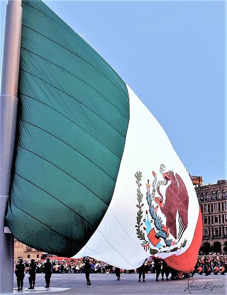 Bandera, El Zocalo,  Mexico - Mexico - ImageN8