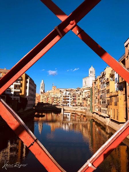Girona Bridge view - Spain - ImageN8