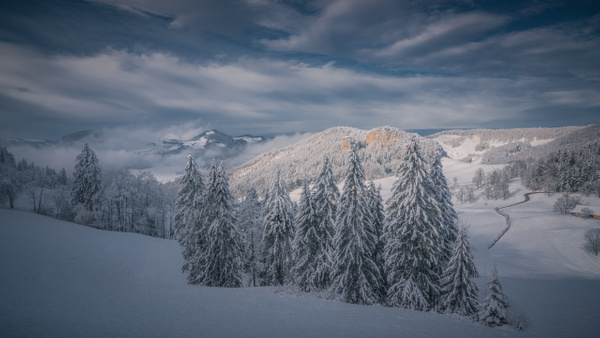 Winter Embrace - Landscape - Marko Klavs Photography