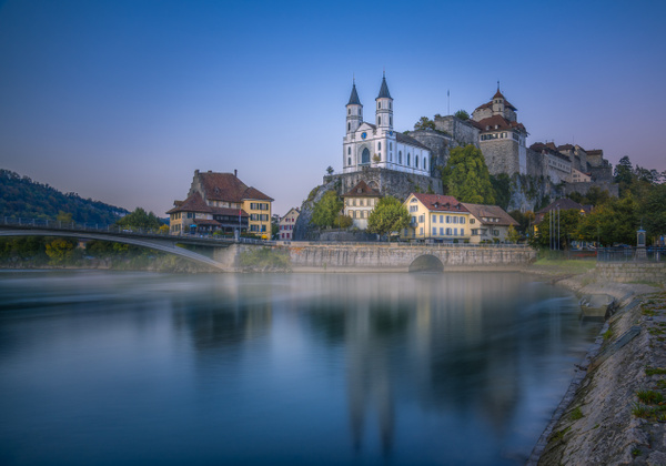 Aarburg Mist - City And Architecture - Marko Klavs Photography