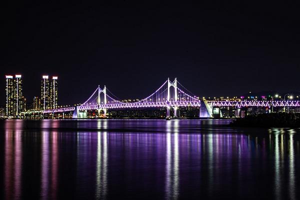 Gwangan Bridge South Korea - Travel - Nicola Lubbock Photography