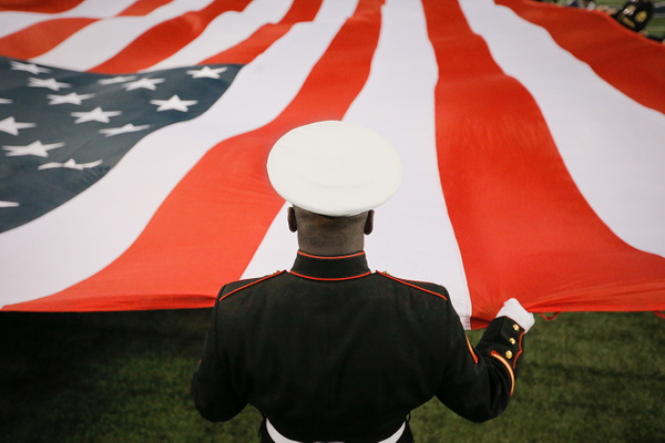 Marine flag detail port - Sports - Scott Kelby
