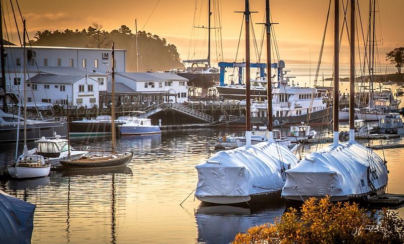 Harbor Colors in Camden