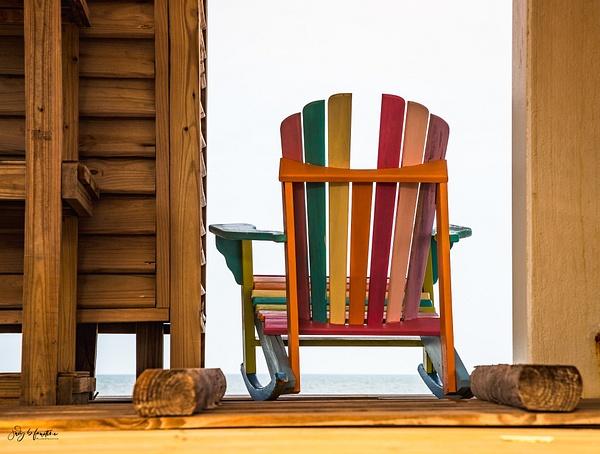 Beach Chair by Judy Faustine