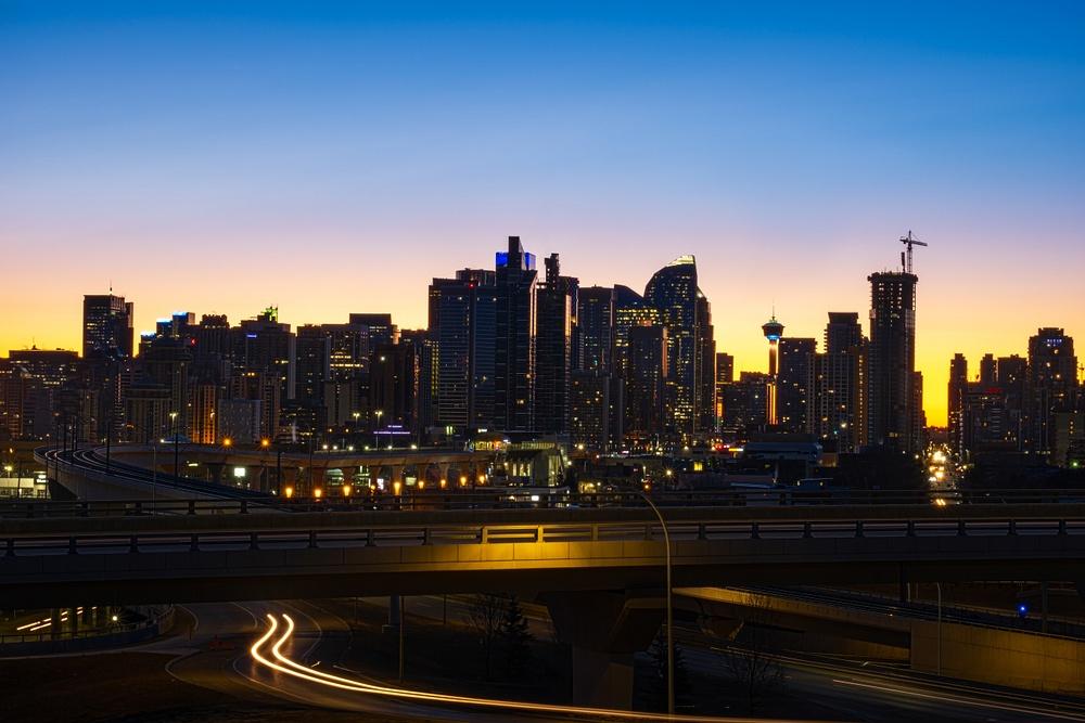 Sunrise City of Calgary March 20, 2021